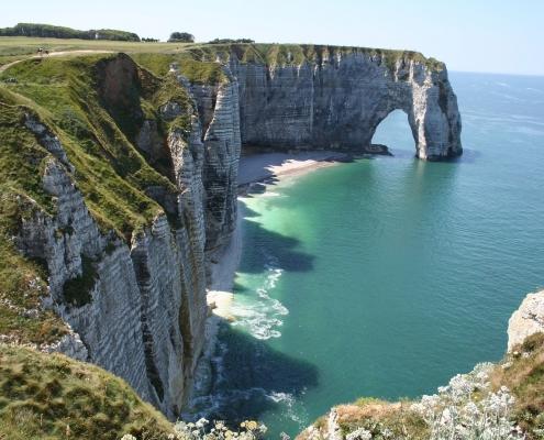 1 Etretat Cliff